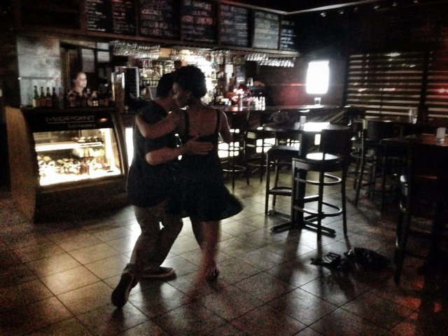 Last dance of the night.