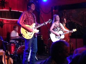 Bruce Robison and Kelly Willis. The Continental Club. Austin, Texas