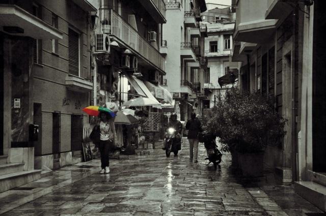 Plaka District. Athens, Greece.