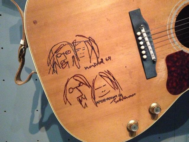 John Lennon's  Gibson J160-E