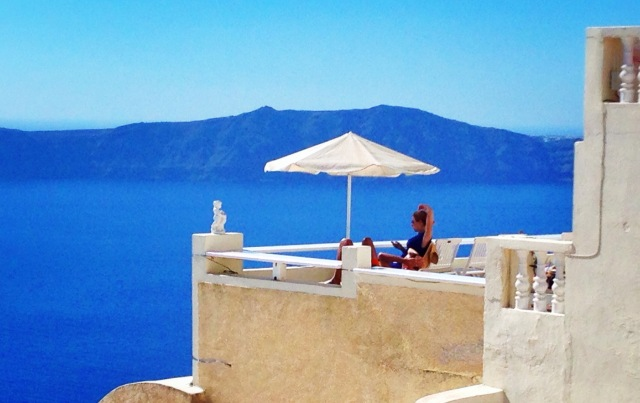 Fira, Santorini. Greece.
