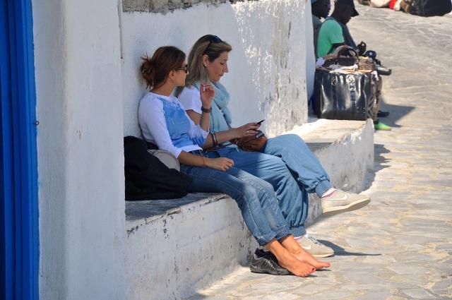 Kamari, Santorini. Greece. Nikon D90