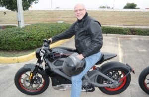 Test driving the electric Harley-Davidson LiveWire