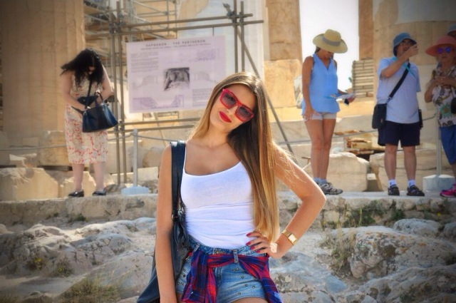Acropolis; Athens; Greece. Nikon D90
