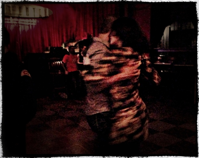 Tango night at The Continental Club. Houston, Texas