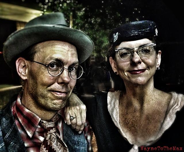 Jon Hogan & Maria Moss